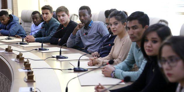 Aksaray, uluslararası öğrencilerin de evidir