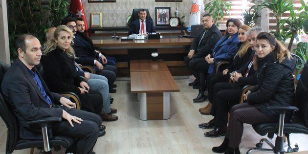 Eğitim ve Araştırma Hastanesi yönetiminden Altınsoy'a ziyaret