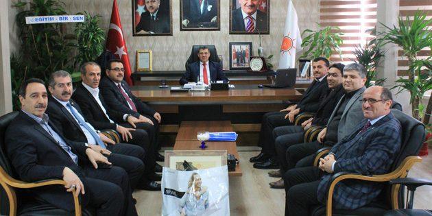 Eğitim Bir-Sen yönetiminden Altınsoy'a ziyaret