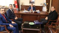 Fenerbahçeliler Derneği Vali Aykut Pekmez'i ziyaret etti