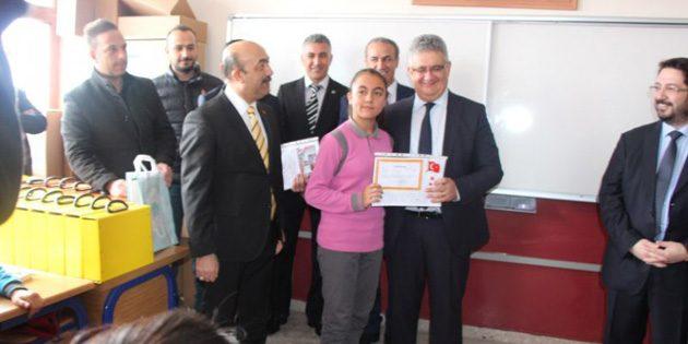 Aksaray'da 75 bin 336 öğrenci 15 günlük yarıyıl tatiline girdi