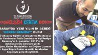 Aksaray'da yeni yılın ilk bebeği 'Kerem bebek' oldu
