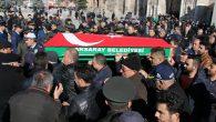 Kıbrıs Gazisi Bayram Özkılıç son yolculuğuna uğurlandı