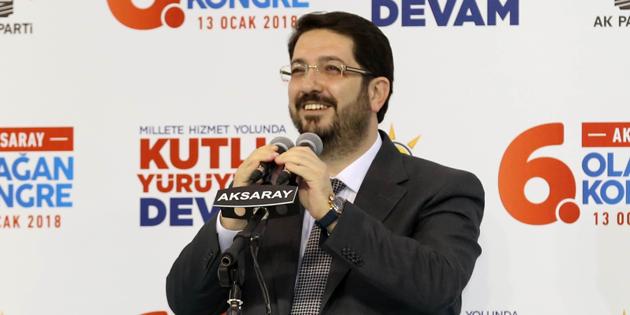 Ak Parti Aksaray 6. Olağan İl Kongresi'nin yankıları sürüyor