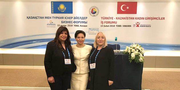 Aysun Akkurt Aksaray'ı başarıyla temsil etti