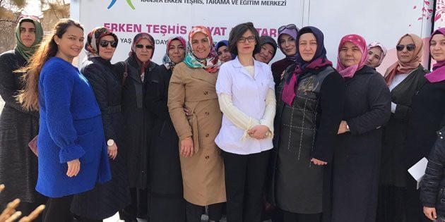 Ak Kadınlar'dan 'Erken Teşhis Hayat Kurtarır' kampanyası