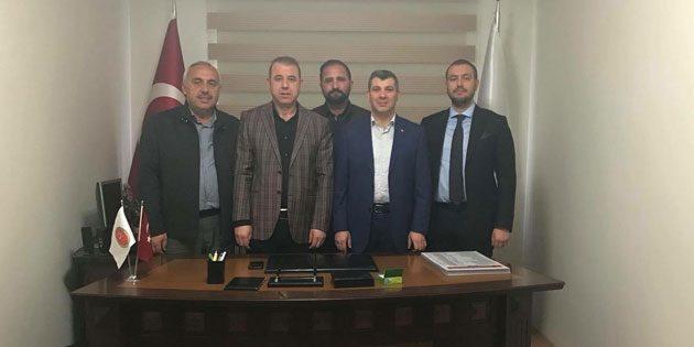Altınsoy'dan Veteriner Hekimler Odasına ziyaret