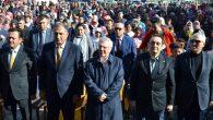 Fenerbahçe Spor Kulübü Başkanı Aziz Yıldırım Aksaray'da