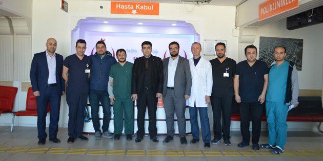 Eskil Devlet Hastanesi'nde ilk kez sünnet operasyonu yapıldı