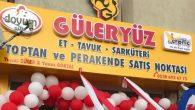 Aksaray'da şarküteri sektörüne yeni bir isim daha eklendi