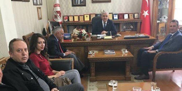 İYİ Parti İl Başkanı Türemiş esnafın sorunlarını dinledi