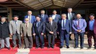 Gazeteci Yavuz Donat ve Doğan Halisdemir Aksaray'da