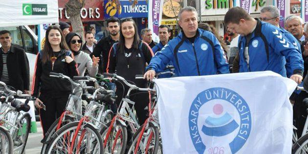 Sigarayla mücadeleye bisikletli destek!