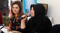 Hasibe Yazgı, Engelli Anneler Derneği tarafından düzenlenen programa katıldı