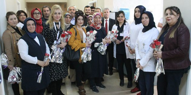 Ak Parti heyetinden 14 Mart Tıp Bayramı ziyareti
