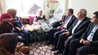 Yaşlıları ziyaret edip, hayır dualarını aldılar
