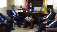 PTT ve Türk Telekom Müdürlüğünü ziyaret ettiler