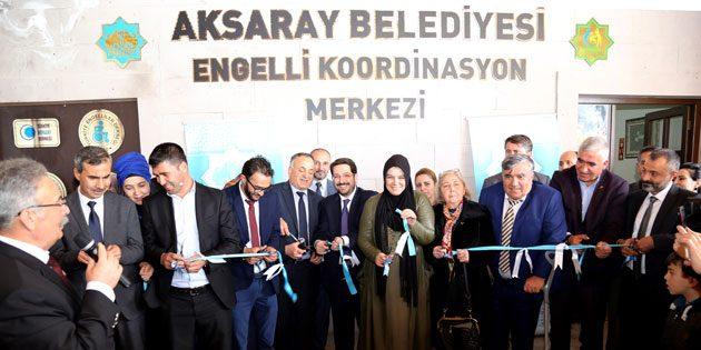 Engelli Koordinasyon Merkezi törenle hizmete açıldı