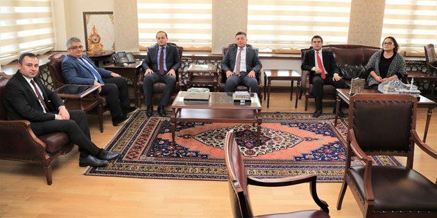 İdare Mahkemesi Başkanlığı'ndan Vali Pekmez'e ziyaret
