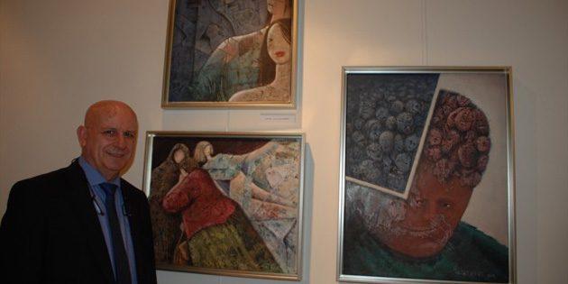 Aksaray eski Başsavcısı'ndan resim sergisi