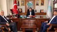 MHP Teşkilatı'ndan Başkan Yazgı'ya nezaket ziyareti