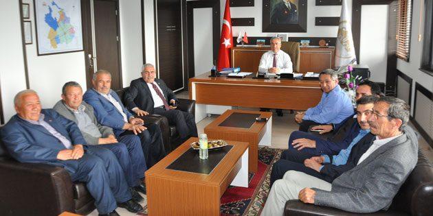 Meclis Başkanı Tüzün Eskil heyeti ile bir araya geldi