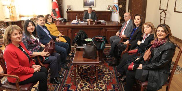 Vali Aykut Pekmez'e 5 Nisan Avukatlar Günü ziyareti