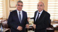 Türk Tarih Kurumu Başkanı Vali Pekmez'i ziyaret etti