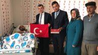 Ak Parti heyeti Afrin Gazisini ziyaret etti