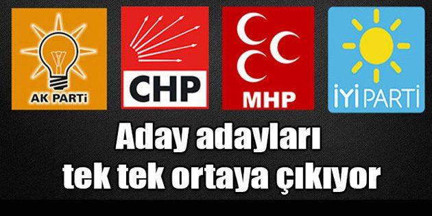 Aksaray'da Milletvekili aday adayları gün yüzüne çıkıyor