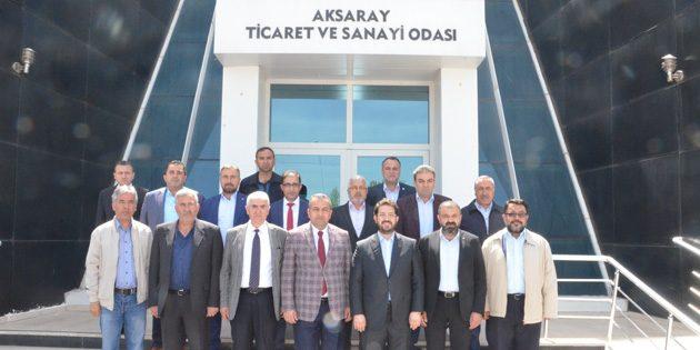 ATSO Başkanlarına hayırlı olsun ziyareti