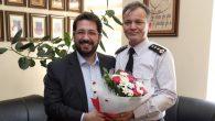 Başkan Yazgı İl Jandarma Komutanı Anık'ı ziyaret etti