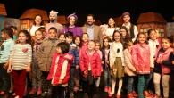 'Fareli Köyün Kavalcısı' çocukları eğlendirdi