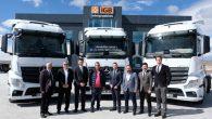 414 adet yeni kamyon ve çekici Aksaray'dan yollara çıktı
