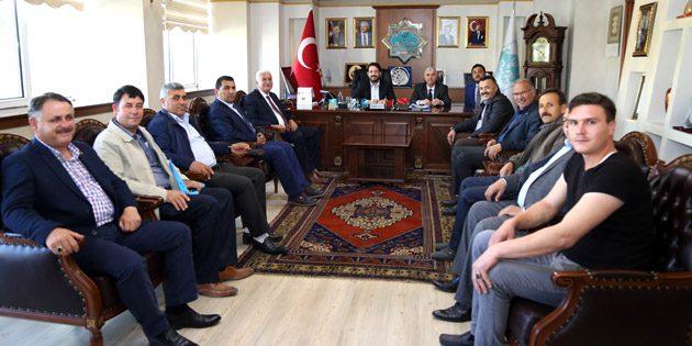 Oda Başkanları'ndan Başkan Yazgı'ya ziyaret