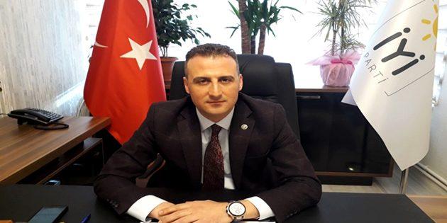 İYİ Parti İl Başkanı Türemiş'ten, 19 Mayıs mesajı