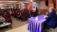 Rektör Şahin Fen Lisesi öğrencileriyle buluştu