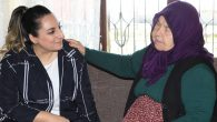 Yeşim Pekmez'den şehit annesine ziyaret