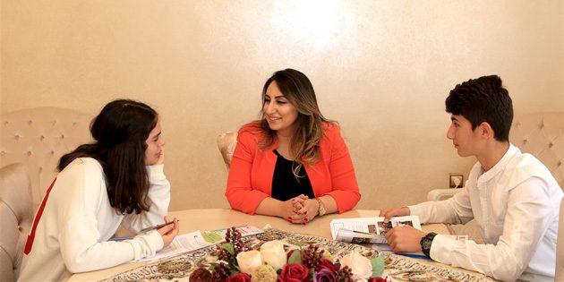 Yeşim Pekmez Hanımefendi ile röportaj yaptılar