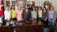 Başkan Yazgı yabancı eğitimcileri kabul etti