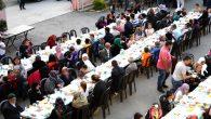 İlk iftar, Çiftlik Mahallesi sakinleriyle gerçekleştirildi