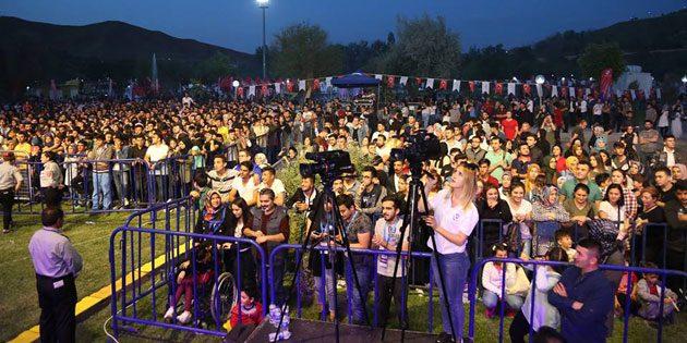2. Gençlik Festivali coşkulu geçti