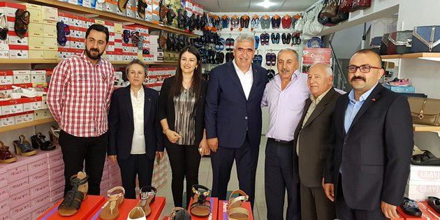 MHP Aksaray Milletvekili adayları ziyaretlerini sürdürüyor