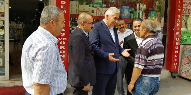 MHP heyeti esnaflara Cumhur İttifakı'nı anlattı