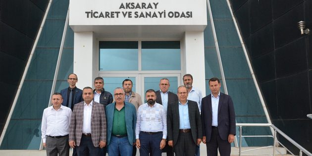 Ticaret Borsası'ndan ATSO'ya ziyaret