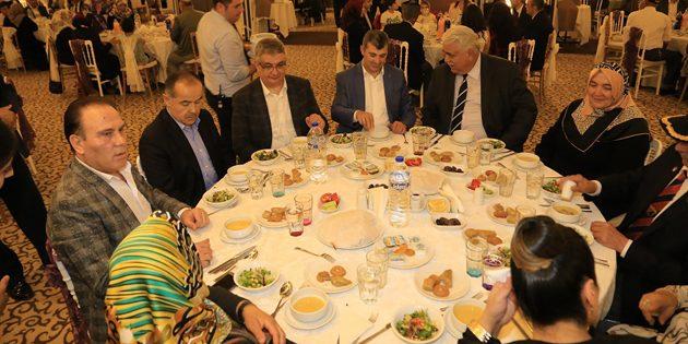 Şehit Aileleri ve Gazilerle iftar