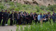11 ilden gelen Şehit Aileleri Aksaray'ı gezdi