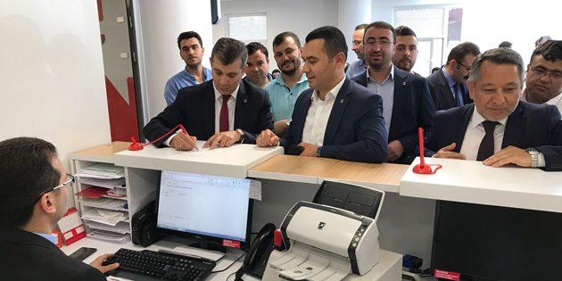 AK Parti il teşkilatından Erdoğan'a seçim bağışı
