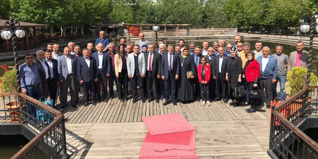 Altınsoy, önceki dönem teşkilat mensuplarından dua ve destek istedi