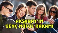 Aksaray'ın genç nüfus rakamı